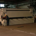 CNC 6m GUILLOTINE MACHINE